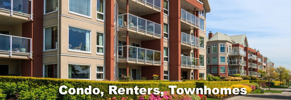 4.  Condo, Renters, Townhome